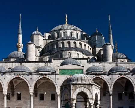 The most famous mosque in Istanbul