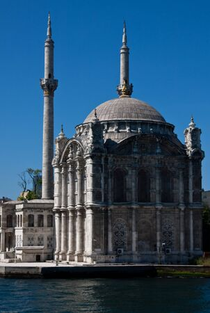 Mosque on the Bosphorous in Ortakoy near Isanbul
