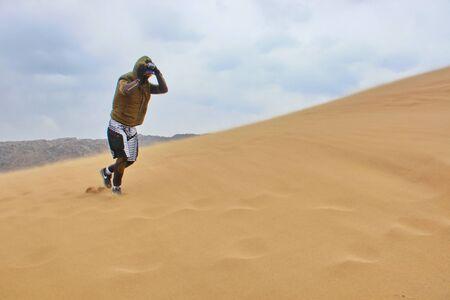 sandstorm on the singing dune