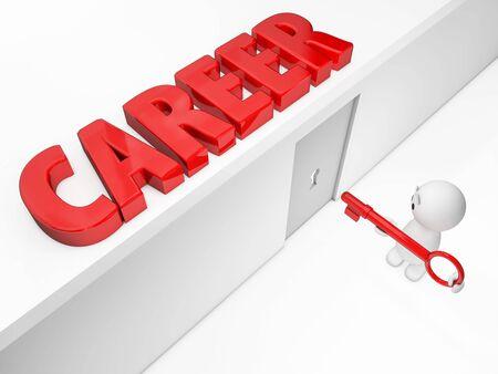 キャリア: 言葉を取る - その他利用可能な 1 つ以上の小さな一歩