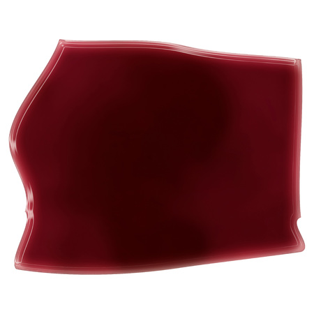 Pool of blood (or wine) that formed the shape of Equatorial Guinea. (series)