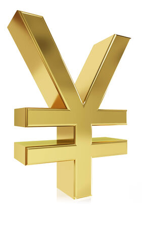 Very high quality rendering of the currency symbol Yen
