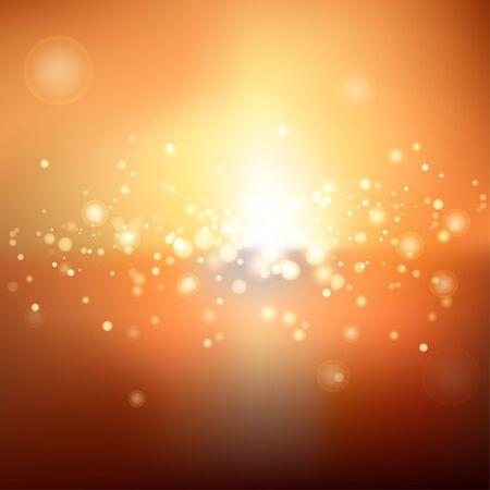 vibrant background: Blurred bokeh vibrant background Illustration