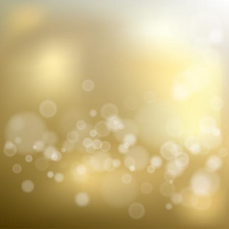 Gold shiny bokeh background
