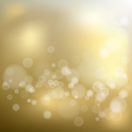 Gold shiny bokeh background