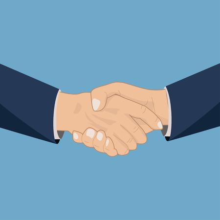 shakes: Handshaking icon illustration Illustration