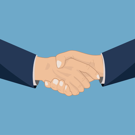 handshaking: Handshaking icon illustration Illustration