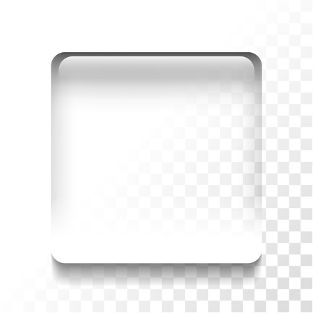 Transparent stop icon 向量圖像