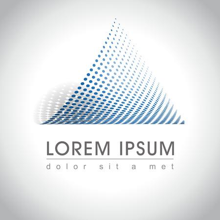 Web アイコンとロゴのサンプルを抽象化、ベクトル イラスト ・
