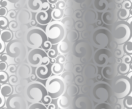 metal pattern: Abstract seamless silver metal pattern, vector illustration