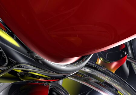 A Study of Abstract Form & Colors. photo