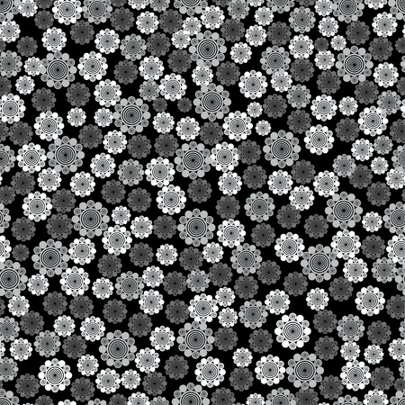 Flower seamless pattern for fabric print, wallpaper, background - vector illustration Vector