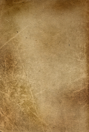 Background, old yellowed and stained sheet of paper Reklamní fotografie
