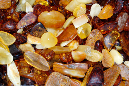 Background, natural yellow and brown amber