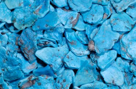 Texture, a mix of blue gemstones Stock fotó