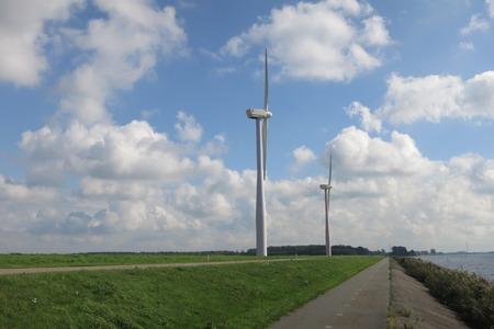 Windmills near De Eemhof Center parcs, Holland