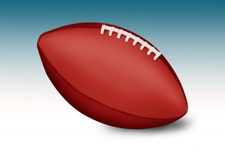 pro: American football balls on gradient background