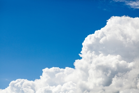 Blue sky with clouds Stock Photo - 16415371