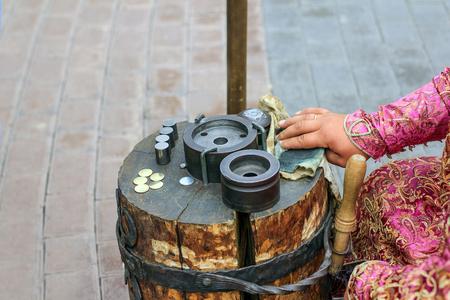 monete antiche: stampaggio vecchie monete
