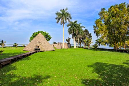 Indian village near the lake