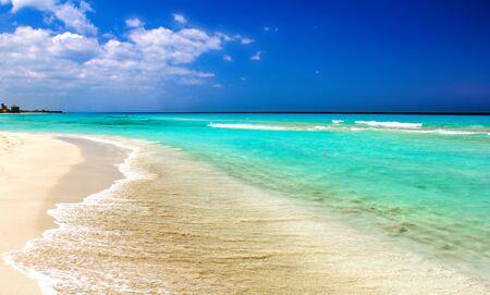 varadero: varadero ocean beach. coast on atlantic ocean