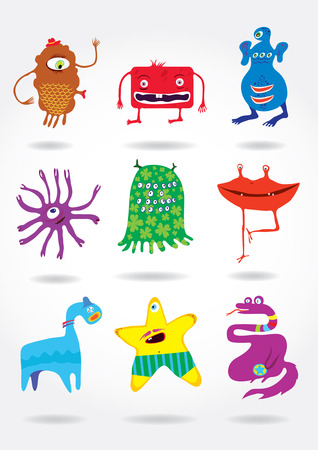 whimscal: cute funny monsters