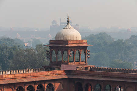 Jama Majid, Old Delhi - one of the largest mosque of India built by Mughal Emperor Shah Jahan
