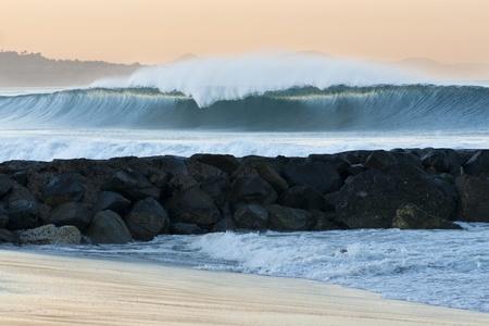 Big Wave Breaking in Los Angeles