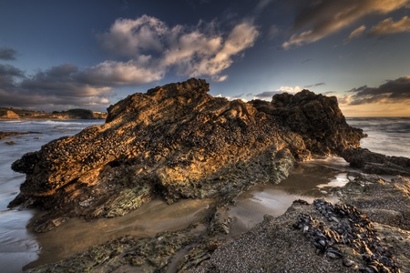 Crystal Cove State Park Laguna Beach Sunset