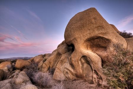 Skull Rock Imagens - 11027710