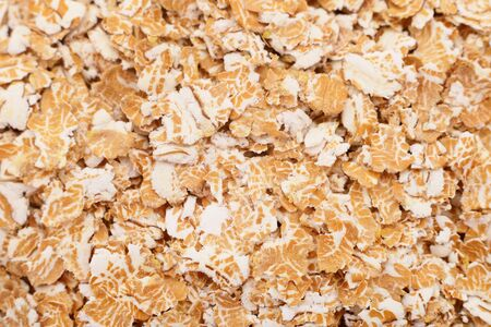 Wheat flakes. Close up of a wheat flakes 版權商用圖片