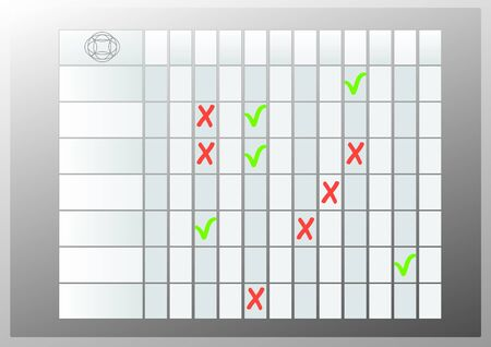 Table Templates Stock Vector - 15354133