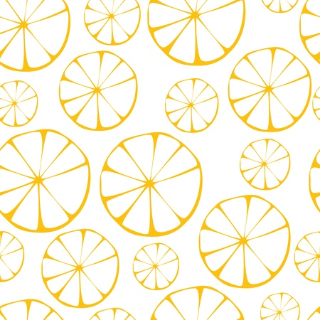 lemon pattern, seamless background