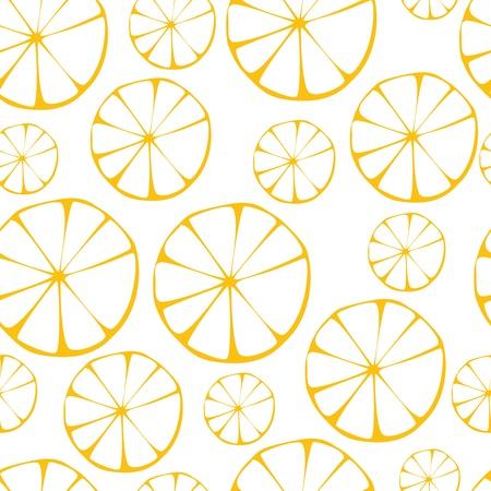 lemon pattern, seamless background
