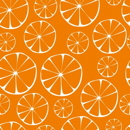 orange pattern, seamless background  Vector