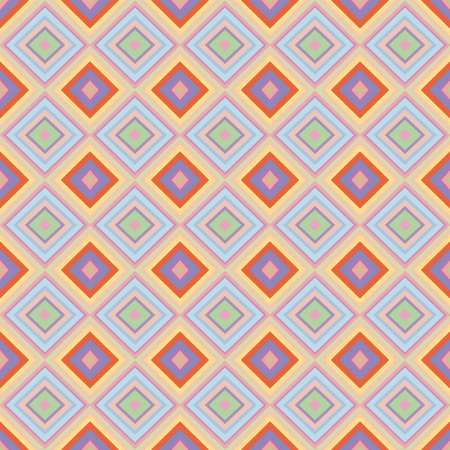 Seamless geometric pattern with rhombus  Can be used in textiles, for book design, website background Illustration