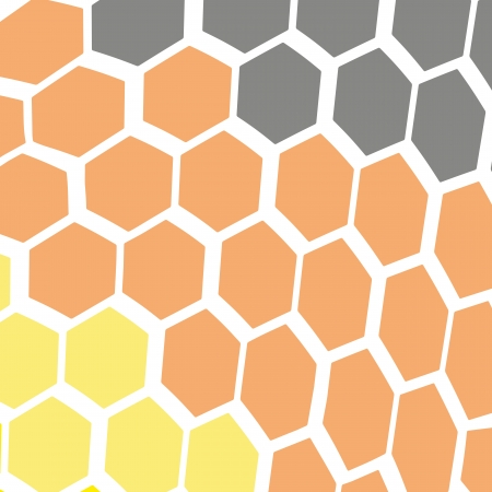 snake skin background, yellow orange and black, Reptile texture illustration Vector