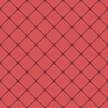seamless pattern, geometric background in red color, vector illustration