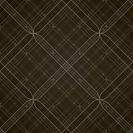 Vector seamless pattern. Modern, geometric, stylish texture in black and white.