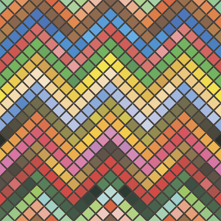 seamless geometric pattern, vector illustration