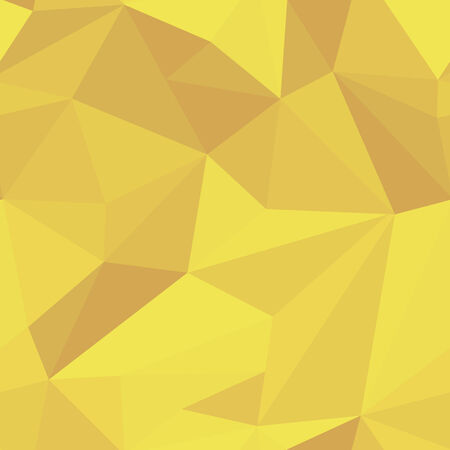 seamless geometric pattern, yellow vector illustration Vector