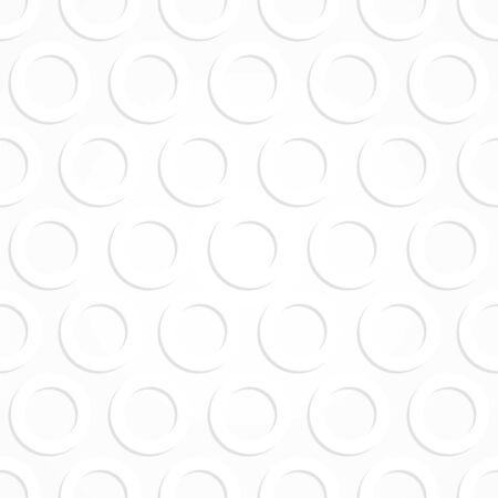 seamless pattern, geometric design with circles, light vector illustration