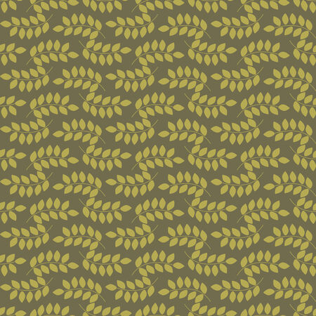 seamless pattern, vector illustration with leafs. Floral design.