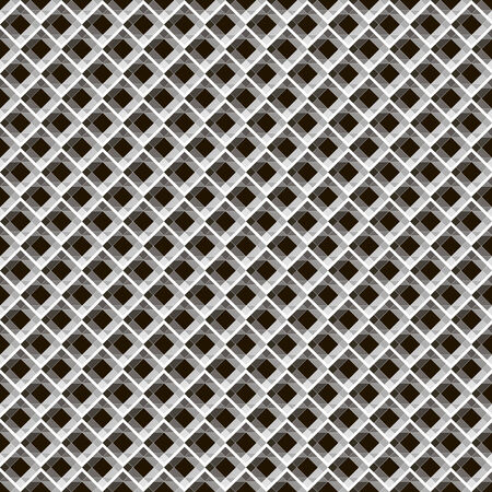 seamless pattern, dark background, geometric deaign, vector illustration Illustration