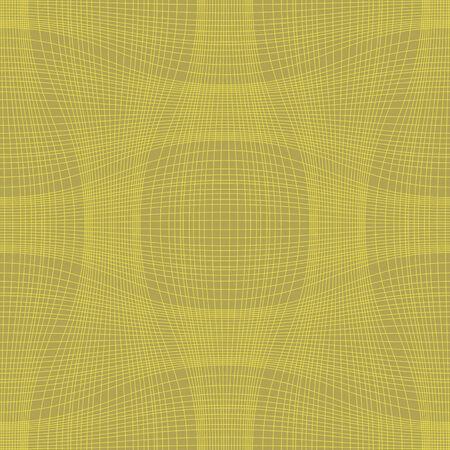 seamless pattern, yellowr background, geometric design, vector illustration Illustration
