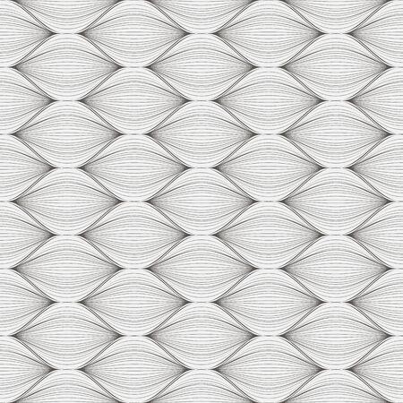 seamless pattern, dark background, geometric design, vector illustration Illustration