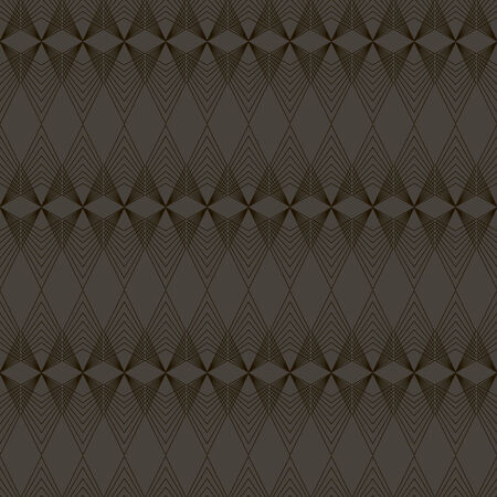 seamless pattern, dark background, geometric design, vector illustration Vettoriali