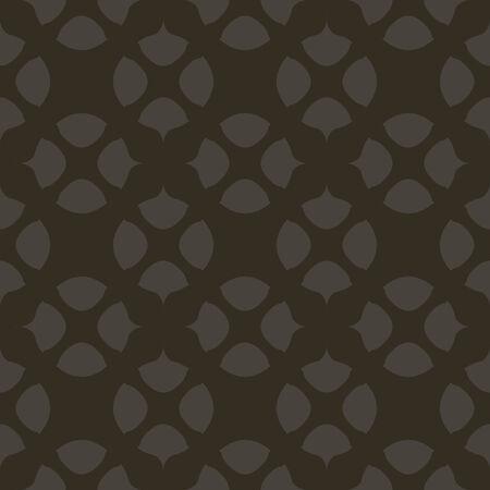 seamless pattern, dark blackl background, geometric design, vector illustration Vettoriali