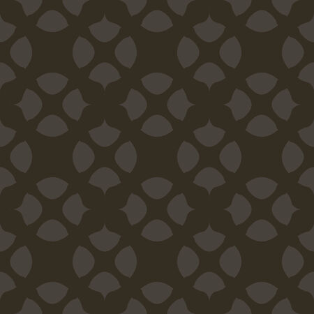 seamless pattern, dark blackl background, geometric design, vector illustration Vectores