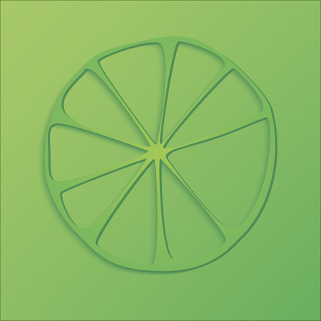 lime vector illustration EPS10 Stock Photo